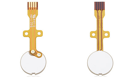Piezoceramic Disc with Flexible Circuit Board