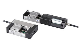 L-505 compact linear stage with folded drivetrain