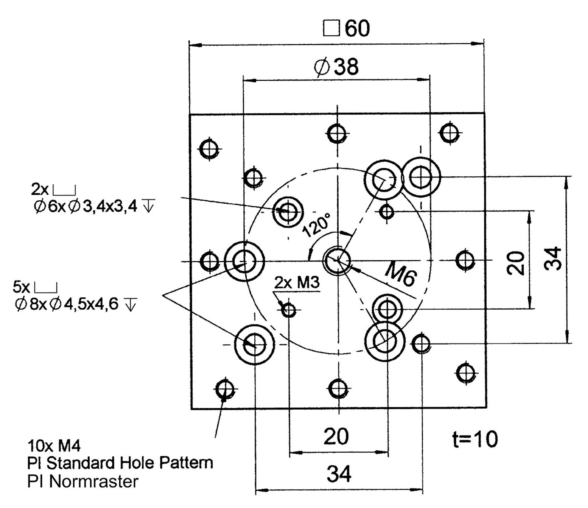 M-105 AP Adapter Plate